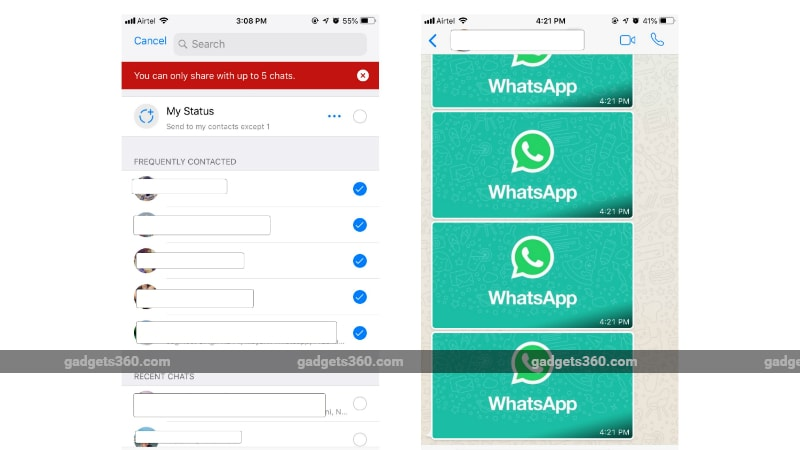 whatsapp forwarding inline WhatsApp Web