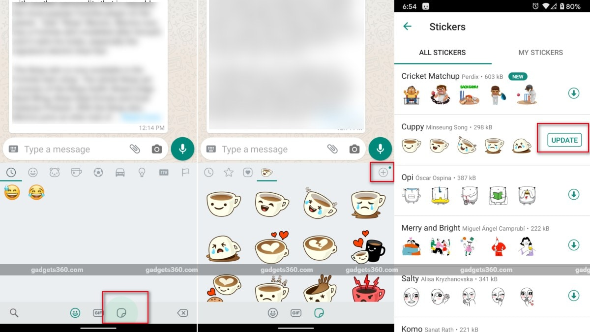 WhatsApp beta for Android: Dark mode, animated stickers