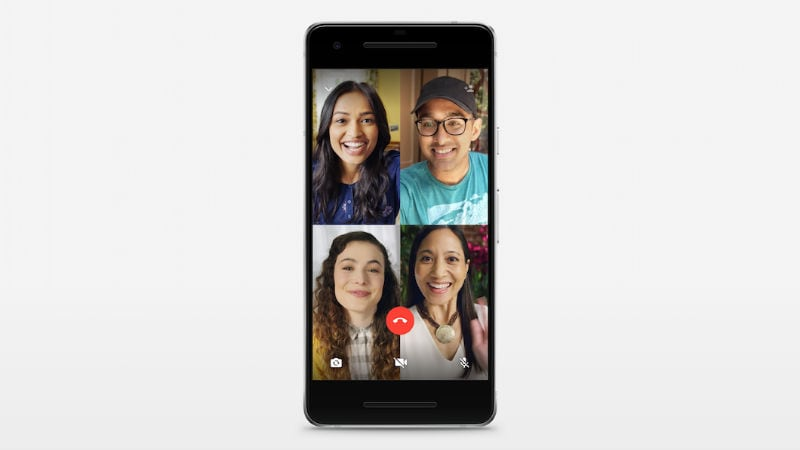 WhatsApp's four-person group video calls go live