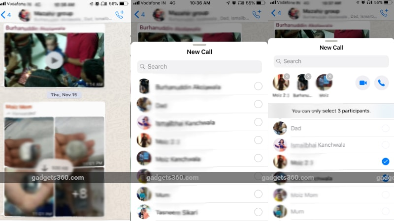 WhatsApp Group Calling Improvements Spotted in iOS Beta