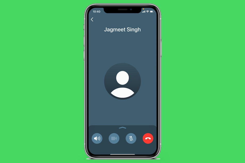 WhatsApp for iPhone Updates With New Calling Interface