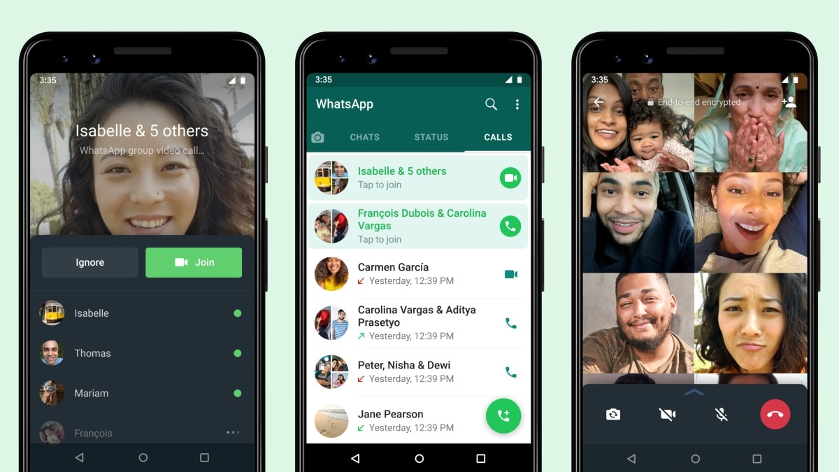 WhatsApp Now Lets You Join an Ongoing Group Call
