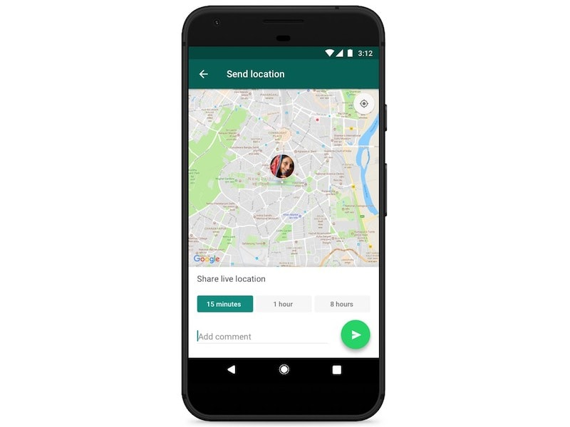 whatsapp live location sharing start WhatsApp Live Location Sharing