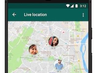WhatsApp पर आया लाइव लोकेशन शेयर करने वाला फीचर