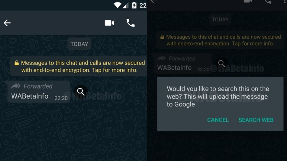 WhatsApp Testing Search Messages on Web Feature to Curb Spread of Fake Messages Amid Coronavirus Outbreak