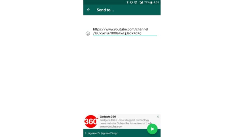 whatsapp multi share preview update gadgets 360 WhatsApp