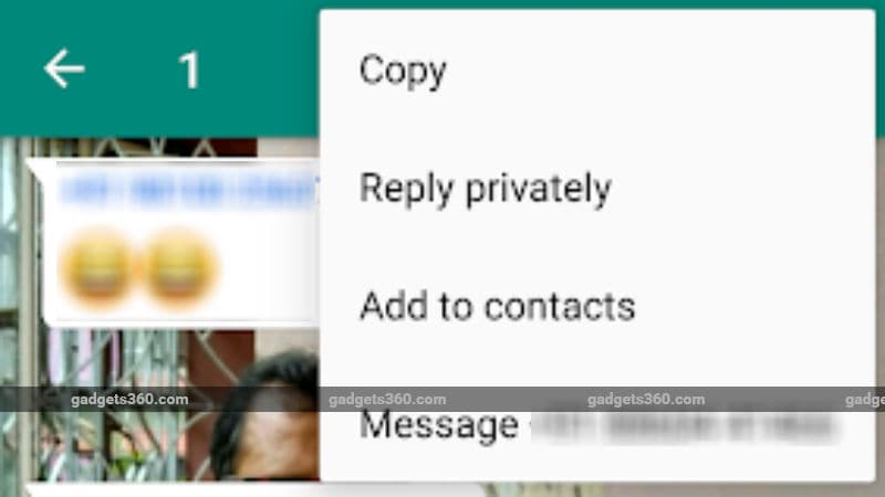 whatsapp for android gets private reply feature with latest beta update