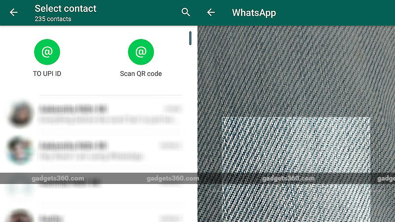 WhatsApp Will Now Let You Transfer Money by Scanning QR Codes