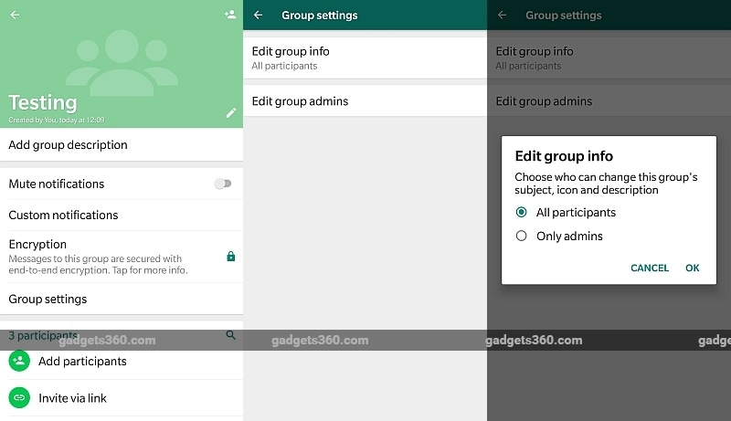 whatsapp resctricted groups android gadgets 360 WhatsApp restricted groups