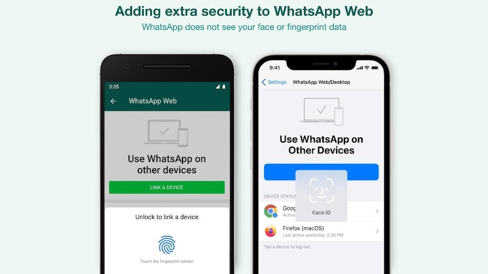 WhatsApp Adds Biometric Security Layer for Web, Desktop App Linking