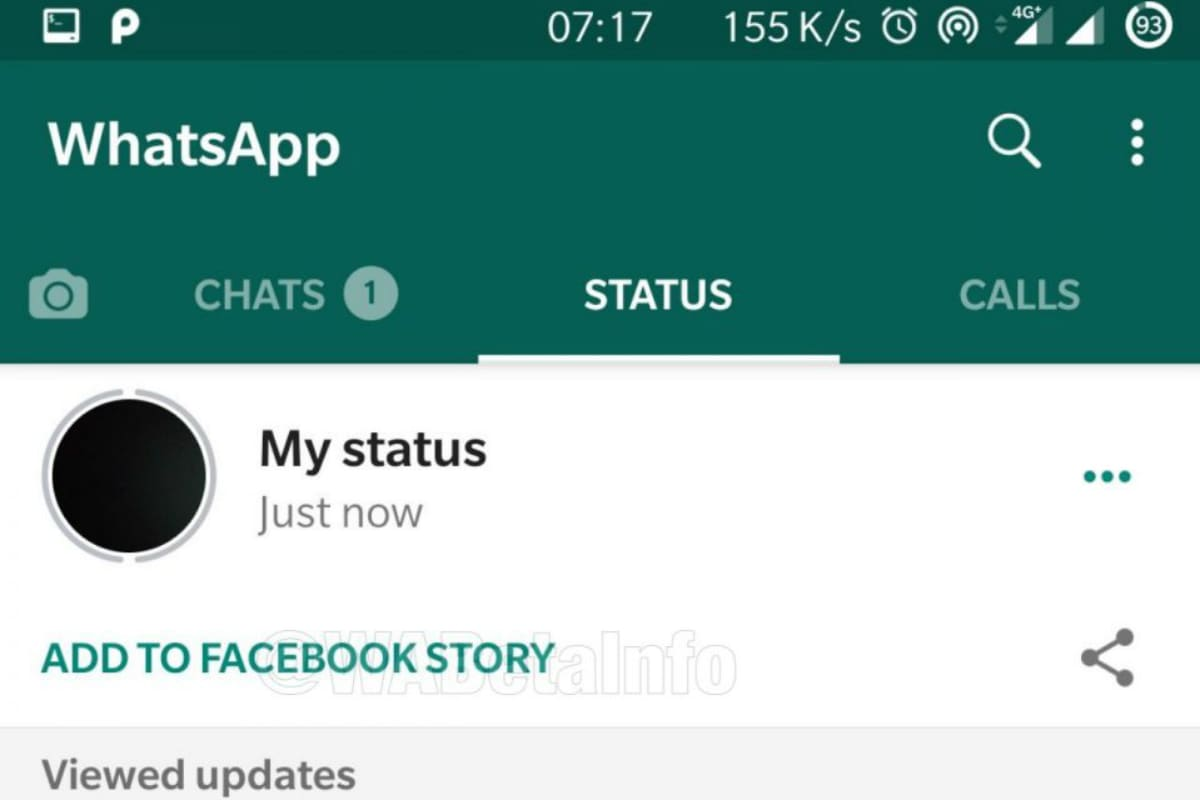 whatsapp status facebook story feature wabetainfo WhatsApp