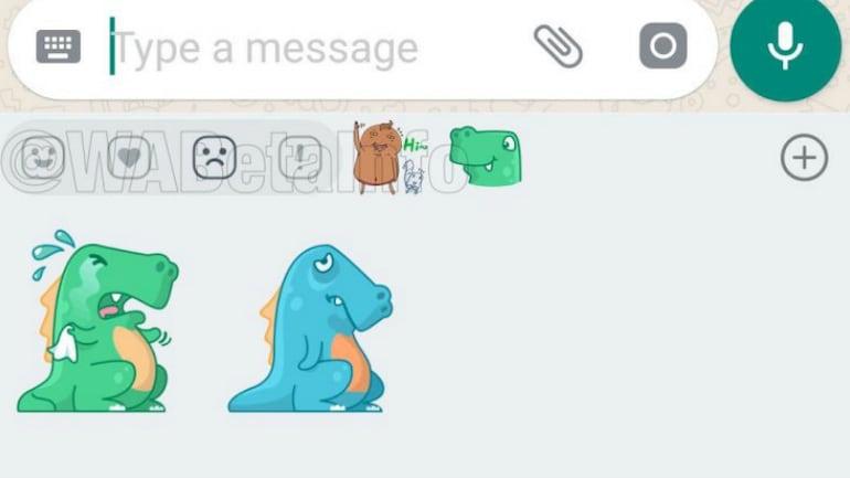 WhatsApp एंड्रॉयड यूज़र जल्द ही खुश और दुखी होने पर भेज पाएंगे स्टीकर्स