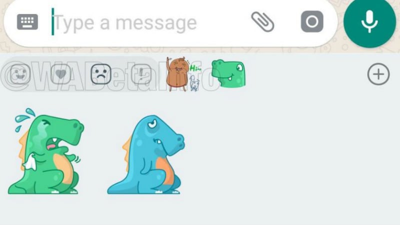 WhatsApp for Android Spotted With Sticker Reactions for Happy, Sad, Love, and Wow