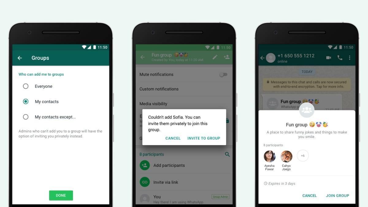 WhatsApp-ன் புதிய Group Privacy Settings அப்டேட் - உங்களுக்கு கண்டிப்பா யூஸ் ஆகும்!