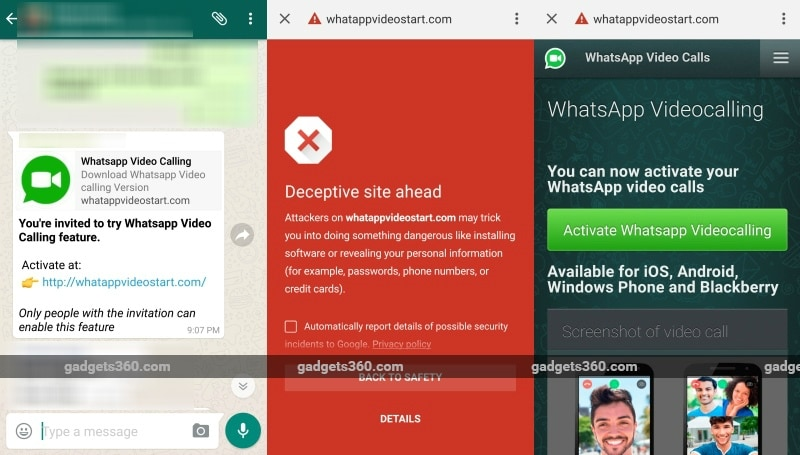 Got a WhatsApp Video Calling Invite on WhatsApp? Better Ignore It