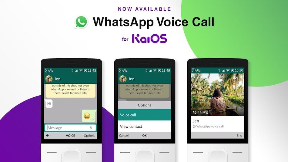 अब Jio Phone समेत फीचर फोन से करें WhatsApp वॉयस कॉल!