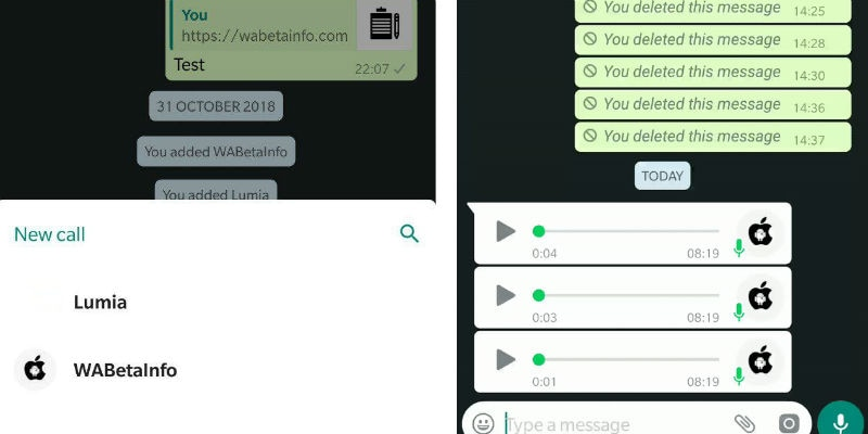 whatsapp wabetainfo WhatsApp  WhatsApp for Android