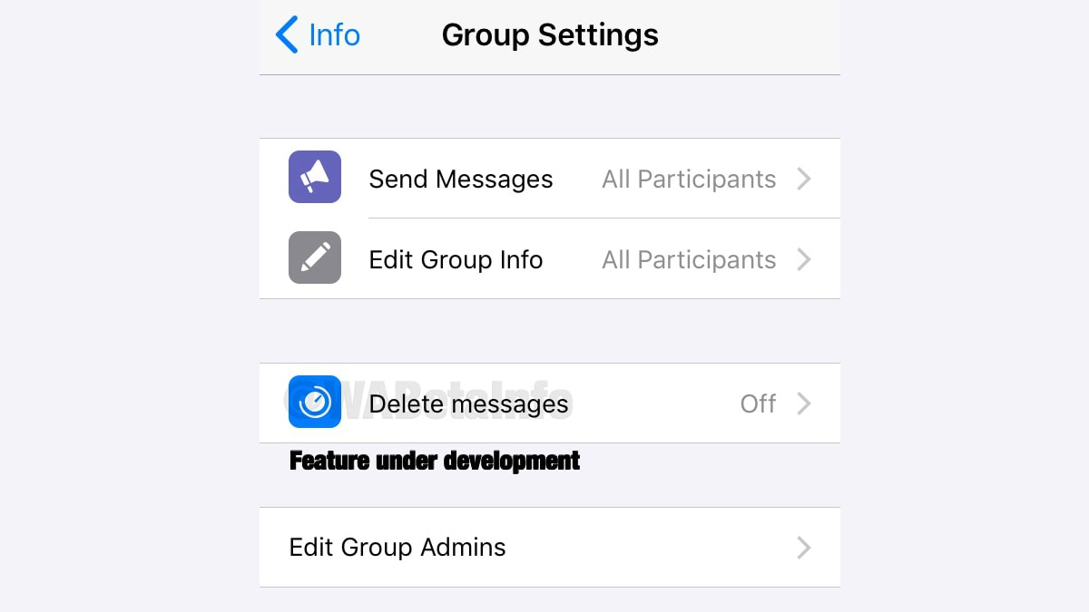 WhatsApp Delete Messages Feature to Work as a Group 'Cleaning Tool', App's Latest Beta for iPhone Suggests