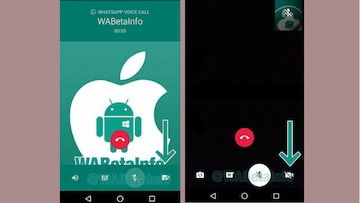 WhatsApp Video to Voice Call Switch Spotted, New App for