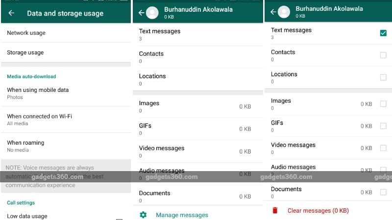 WhatsApp Storage Management Feature Is Finally Here