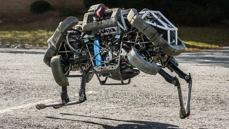 Maker of Fearsome Animal Robots Is Edging Into the Light