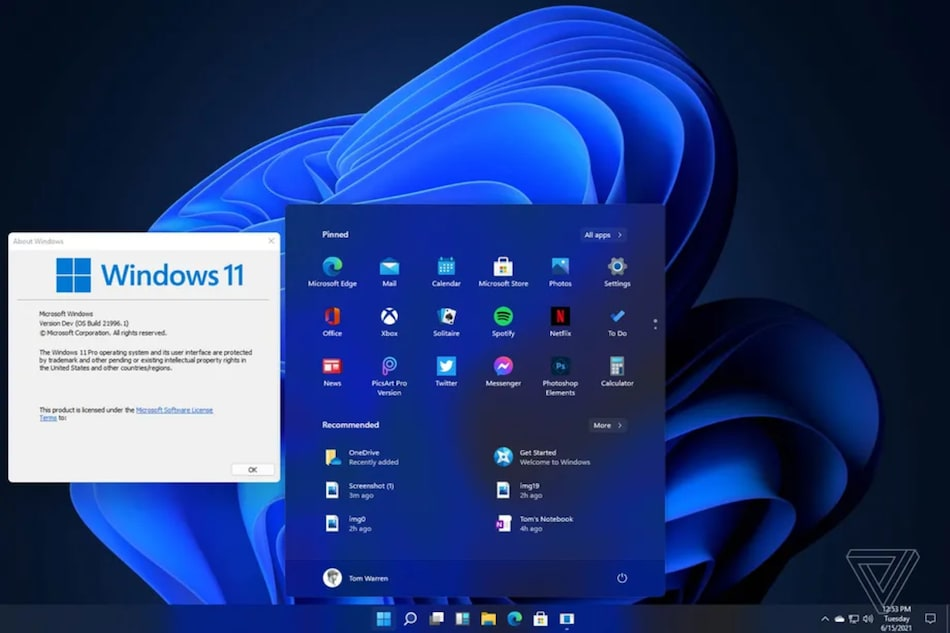 Windows 11 Design Leaks Ahead of June 24 Launch, Shows New Start Menu, App Icons, More
