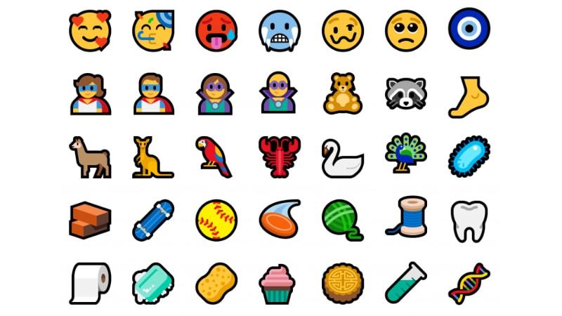 windows 10 emoji microsoft Windows 10 Emoji