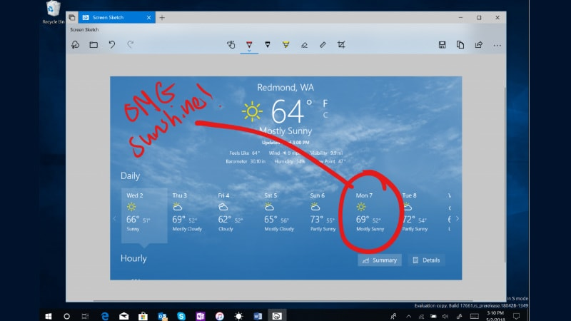 Windows 10 Preview Shows Off Improved Screenshot Features, More Fluent Design