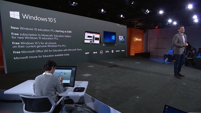 Microsoft Windows 10 S Operating System Launched for Education in