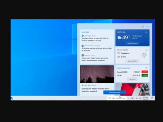 Microsoft Windows 10 Taskbar Gets News and Interests Widget for Insider Members: All the Details