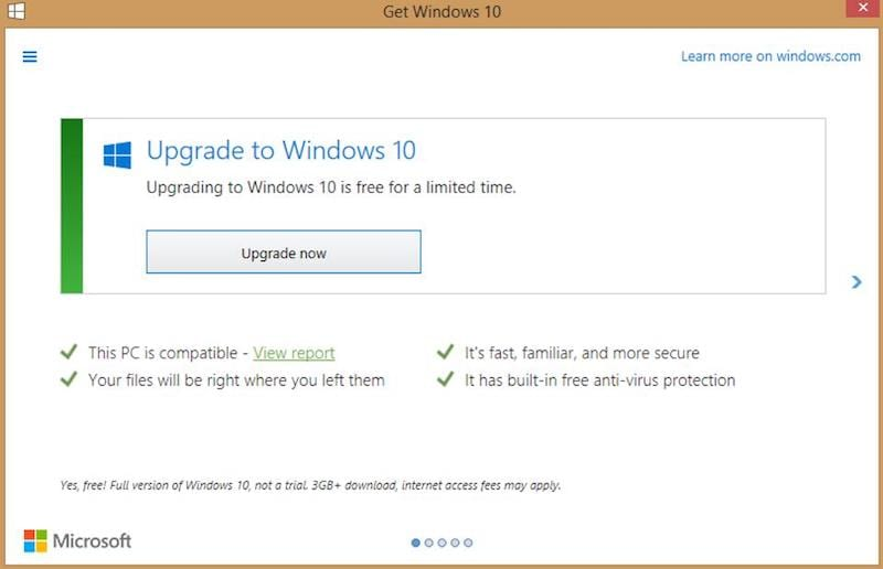 Windows 10 Upgrade Tactics Were a Bit Too Aggressive, Admits Microsoft