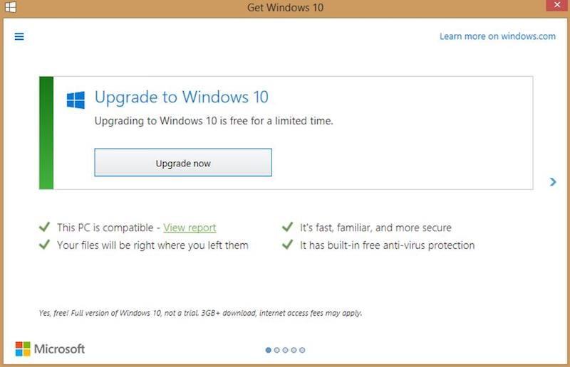Windows 10 Upgrade Tactics Were a Bit Too Aggressive, Admits Microsoft