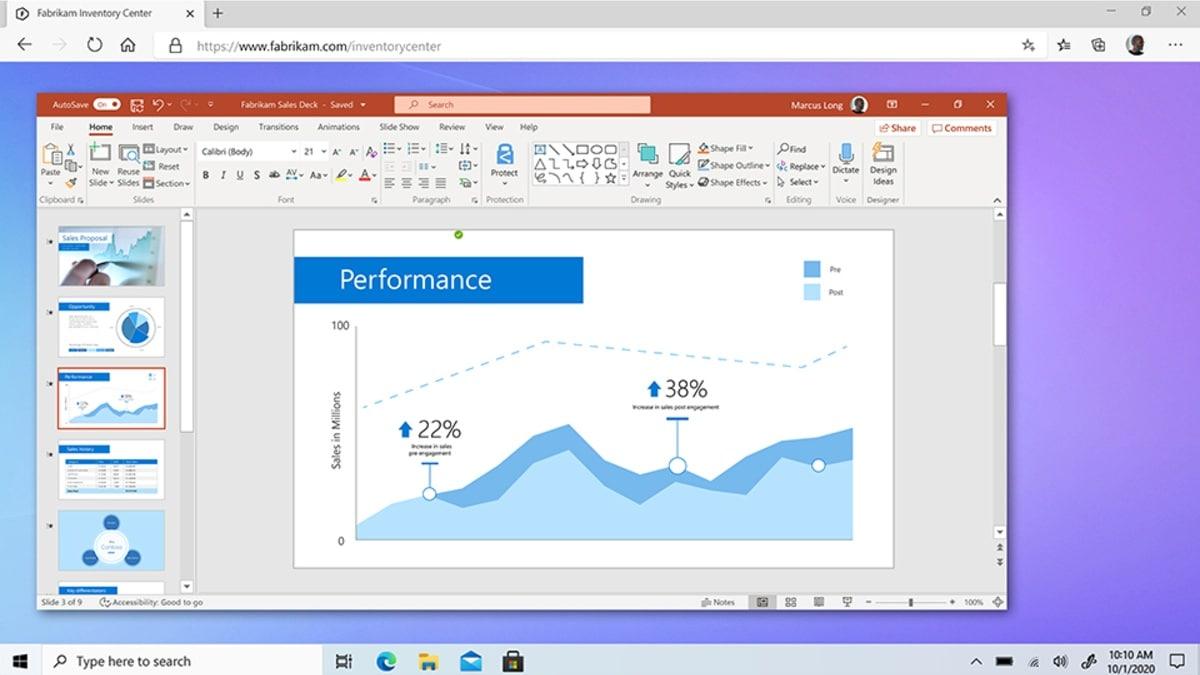 windows 365 powerpoint image microsoft Windows 365