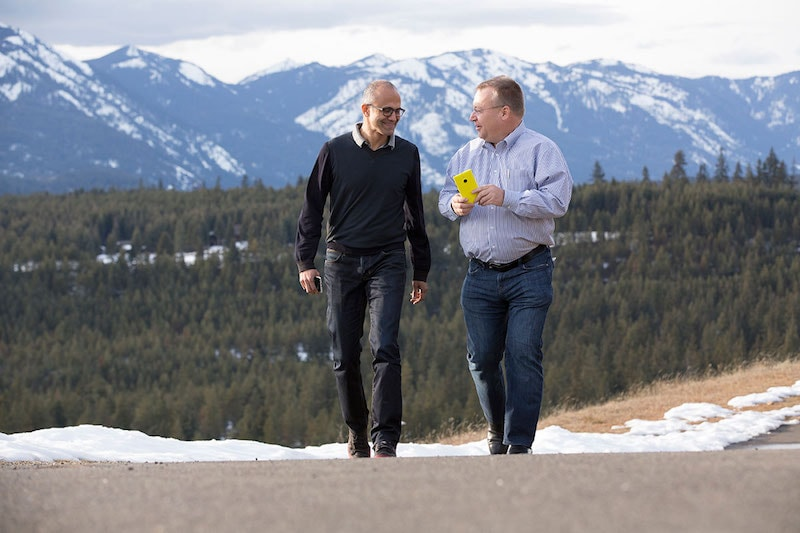 Microsoft CEO Satya Nadella on Nokia Acquisition in Hit Refresh Book