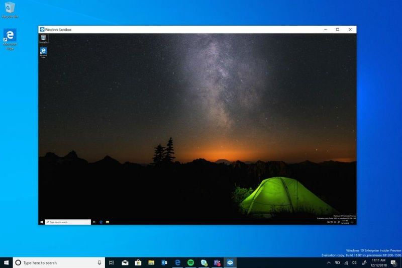 How to enable Windows Sandbox on Windows 10