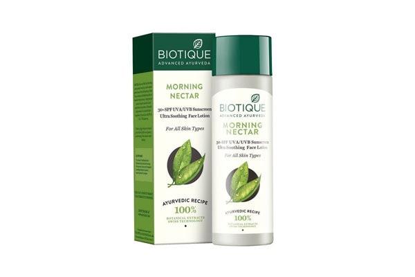 Biotique Morning Nectar Suncreen SPF 30