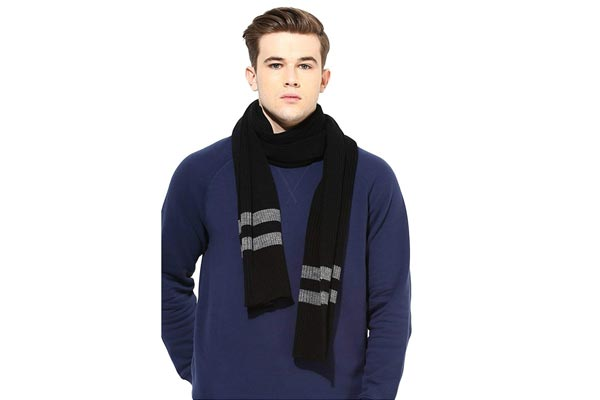 Winter Wear for Mens in India 2019 - Brandonn Men's Muffler