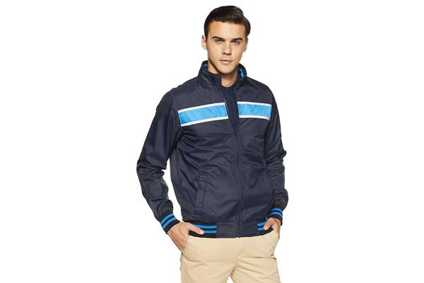 Best Winter Jackets for Men in India 2019 - Allen Solly Men's Jacket Blue