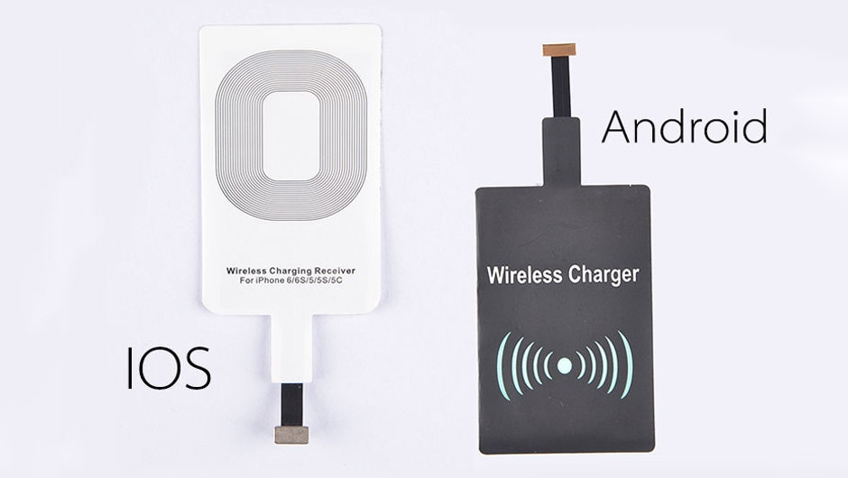 wireless charging receiver coil Wireless charging receiver coil iOS Android