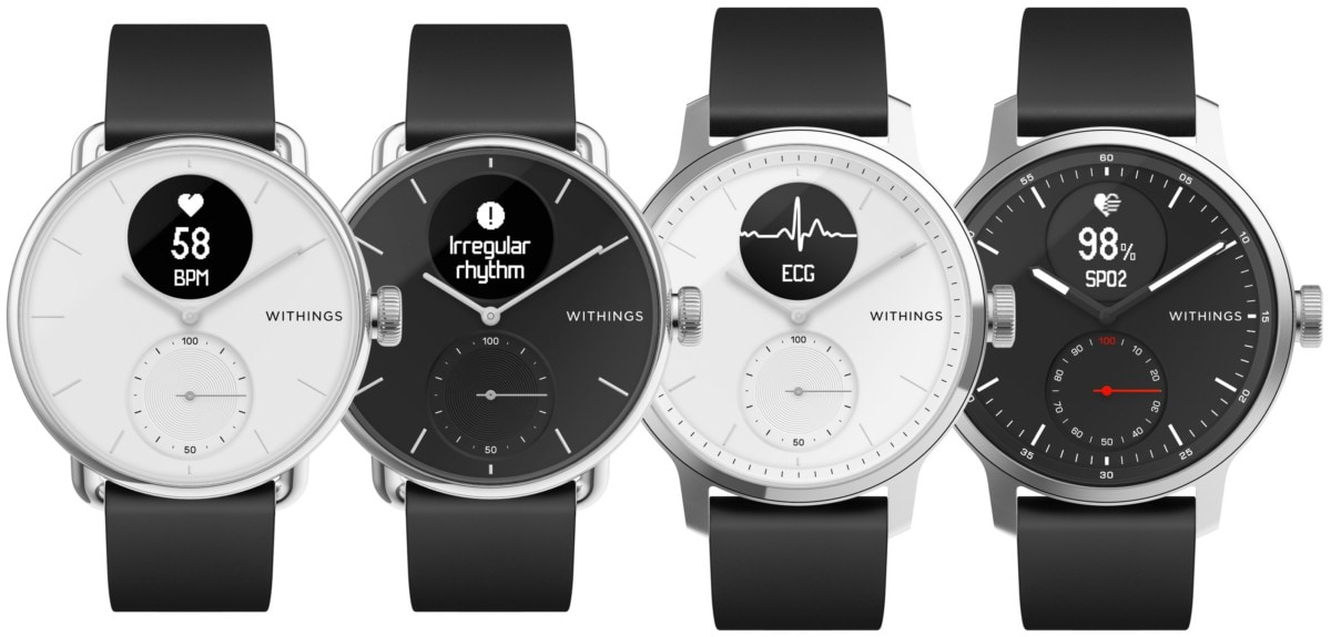 withings body Withings ScanWatch