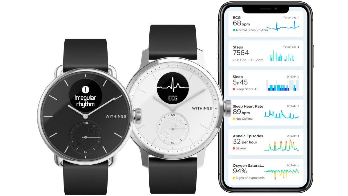 CES 2020: Withings ScanWatch Launched, First Hybrid Smartwatch That Can Detect Sleep Apnea, Atrial Fibrillation