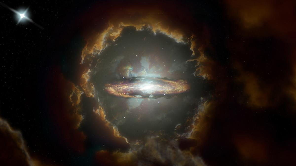 Oldest, Most Distant Disk Galaxy Found 12.3 Billion Light Years Away