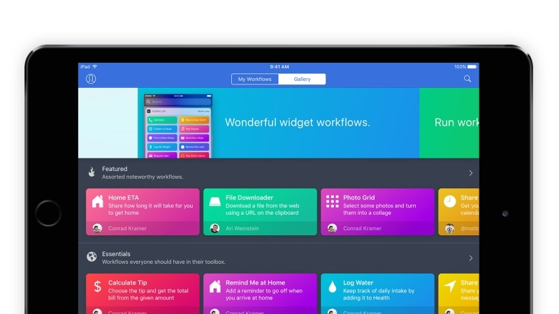 Apple Acquires Workflow, a Productivity App for iOS