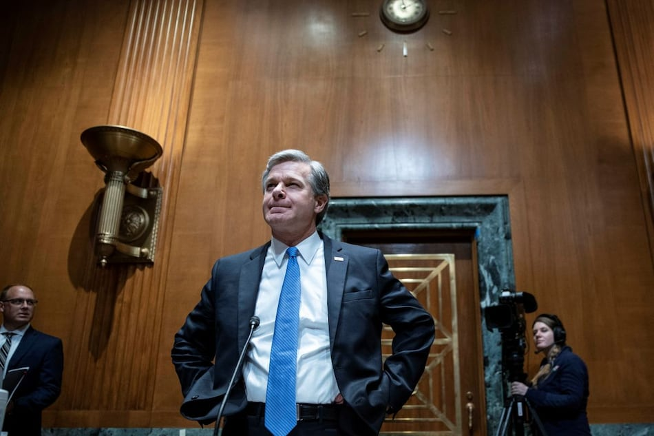 Hackers Shouldn't Be Paid Ransoms, FBI Director Christopher Wray Pleads With Public Companies