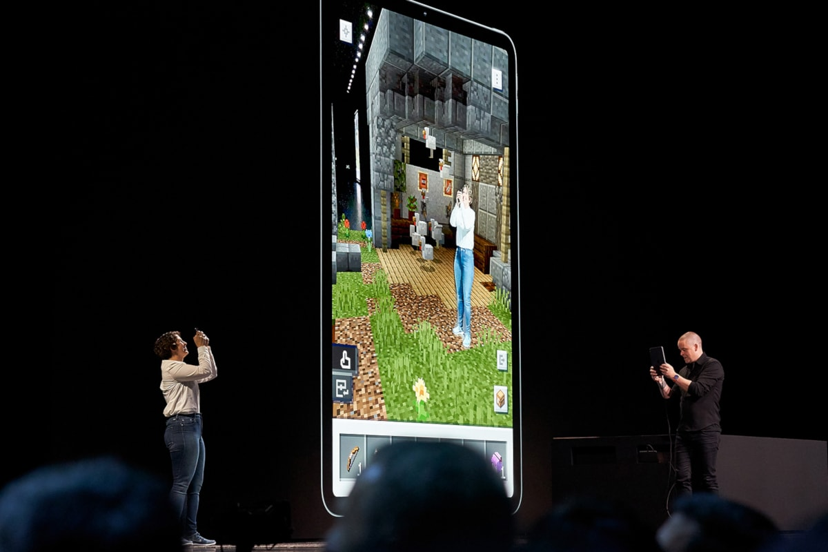 Apple ARKit 3, RealityKit, RealityKit Composer Announced; HomeKit Coming to Security Cameras, Routers