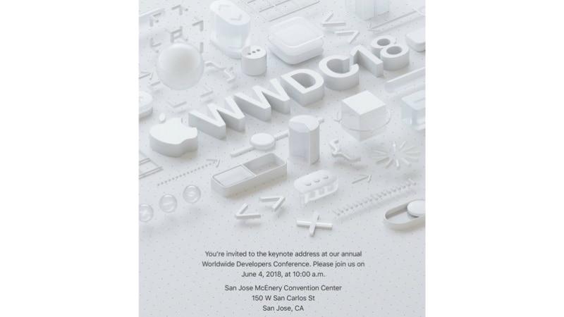 wwdc 2018 invite WWDC 2018