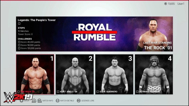 WWE 2K19 to Get an All-New 'Towers' Mode