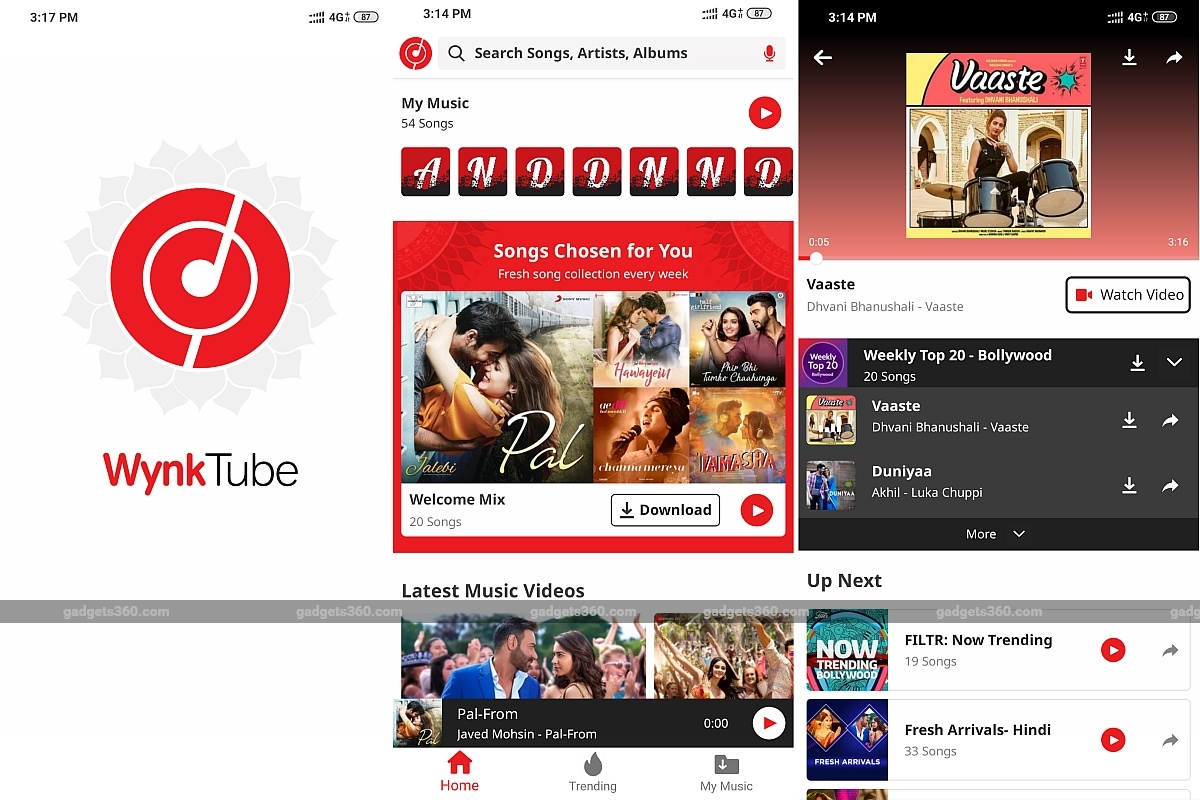 Wynk Tube App Launched by Airtel to Counter YouTube Music, Claims to Offer Over 40 Lakh Songs and Music Videos