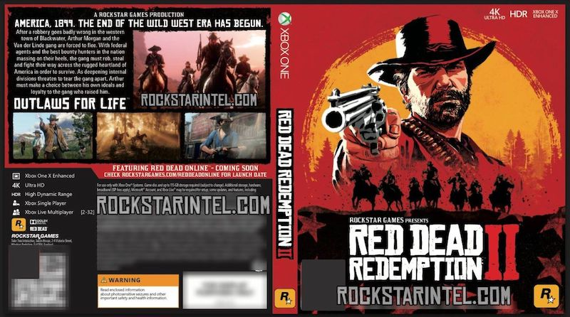 Red Dead Redemption 2 Xbox One 2 Disc Release Is Unknown