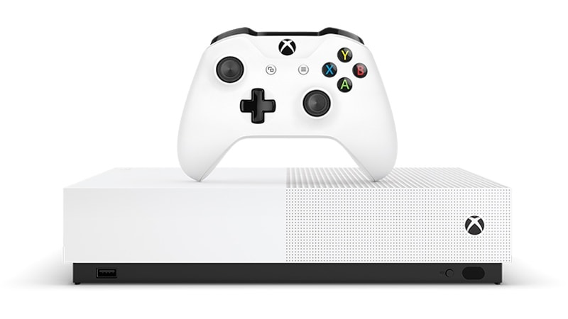 Microsoft to Launch Xbox One S 'All-Digital Edition' in May